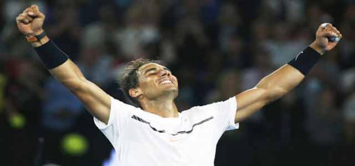 Nadal juggernaut rolls on