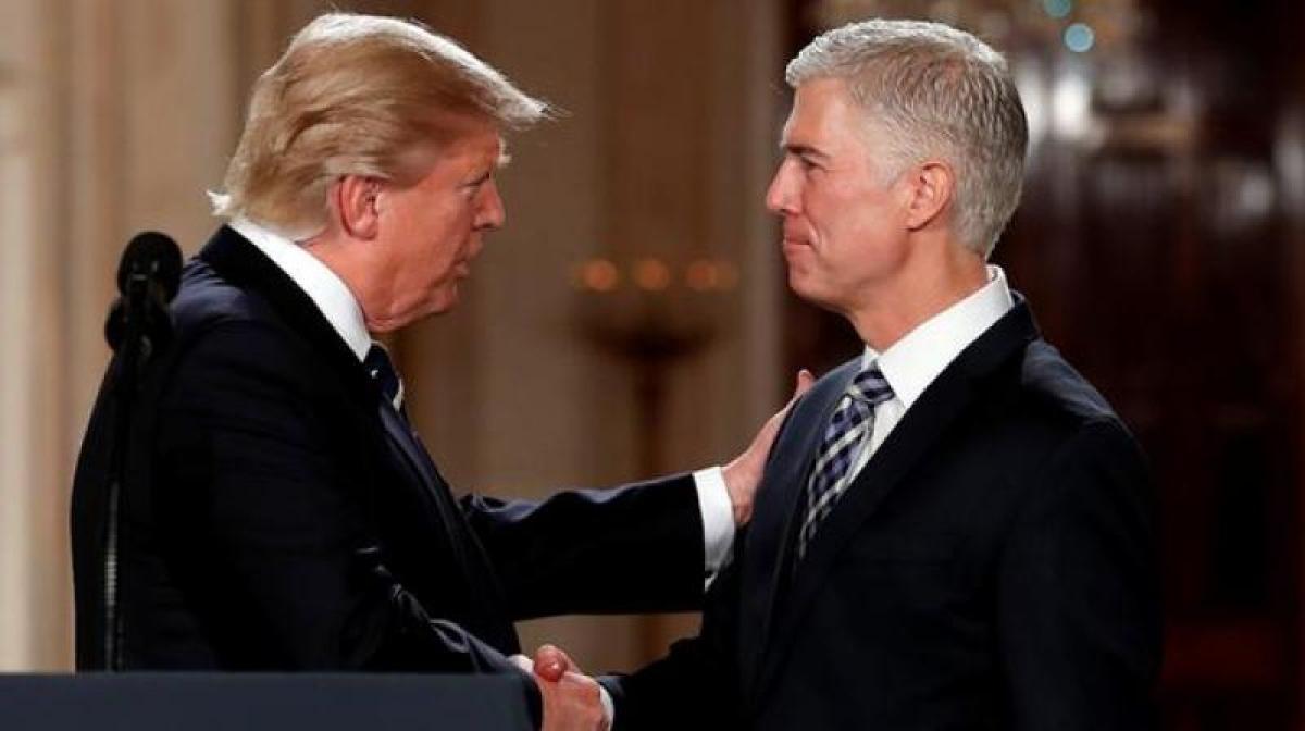 Donald Trump picks conservative judge Neil Gorsuch for US Supreme Court