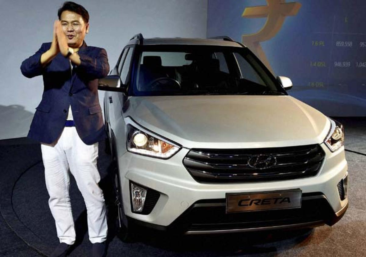 Hyundai launches Creta, priced from 8.59 lakh