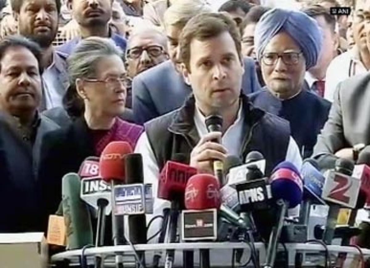 Modi jis dream of a Congress Mukt Bharat impossible: Rahul