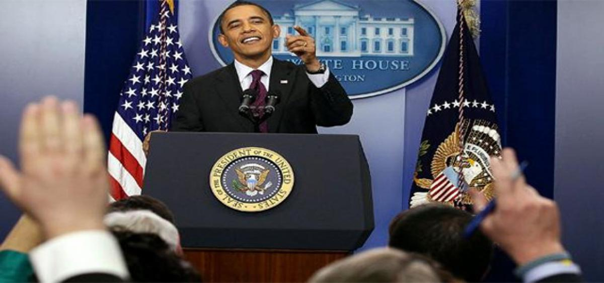 President Obama holds final White House press conference