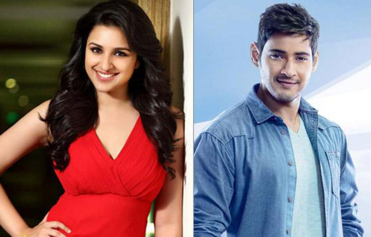 Will Mahesh romance Parineeti Chopra in Murugadoss film?