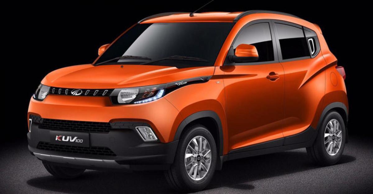 Mahindra unveils KUV100 compact SUV