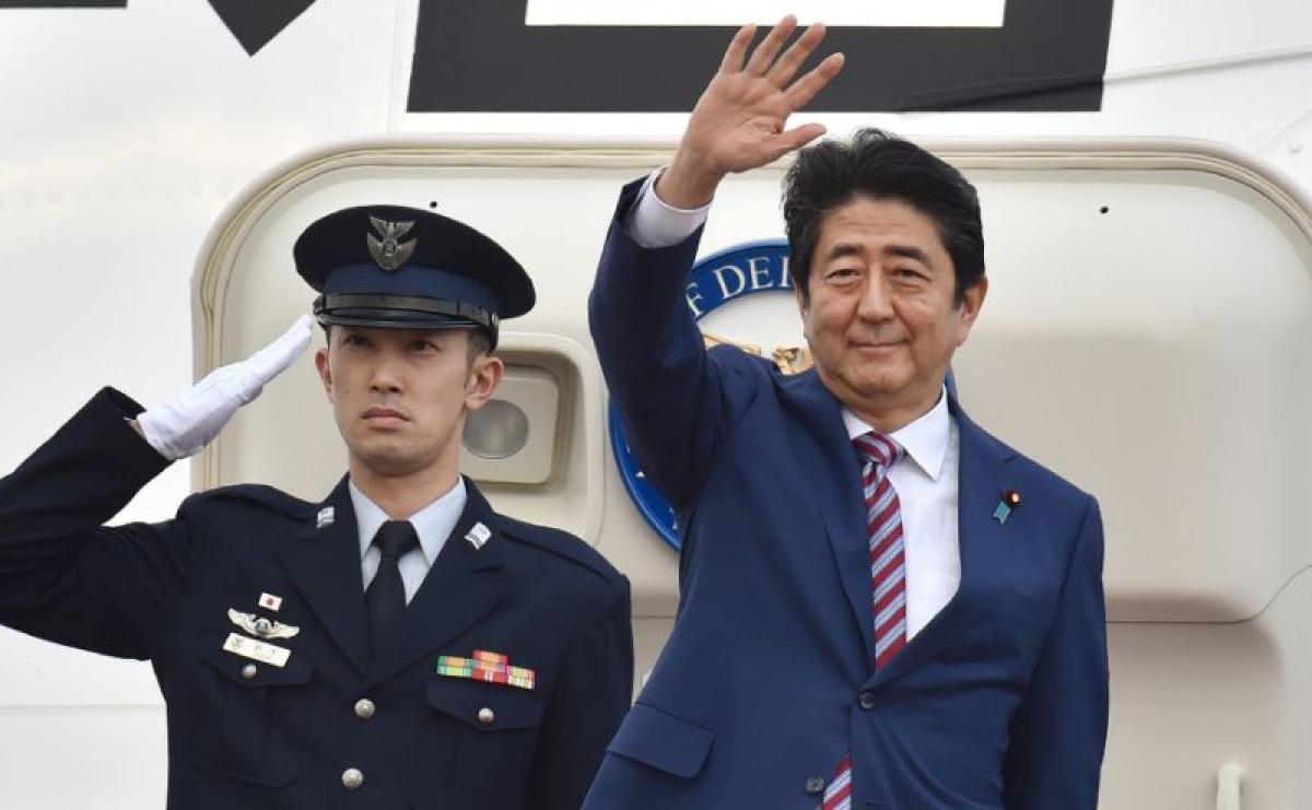 Japan PM leaves for Europe for security, trade talks