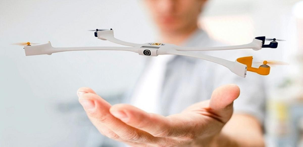 Selfie stick is a passe, here comes a selfie drone