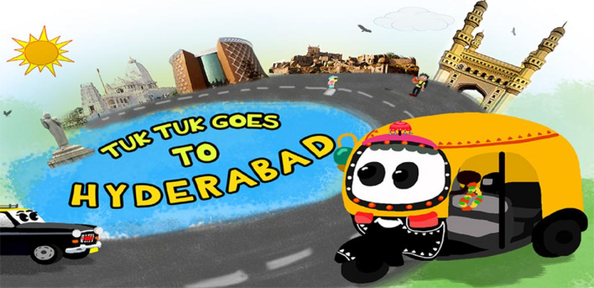 An app that helps kids learn TUK TUK way