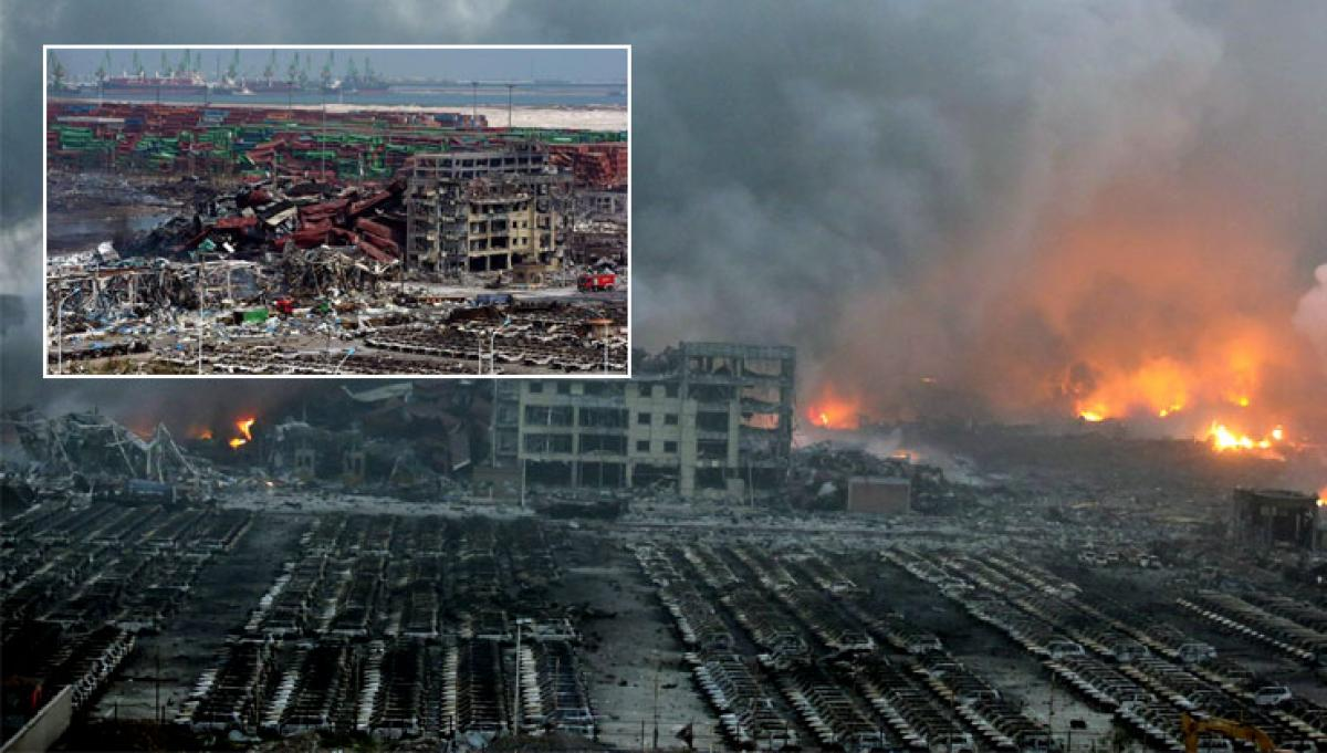 Cleanup nearing finish at China blasts site
