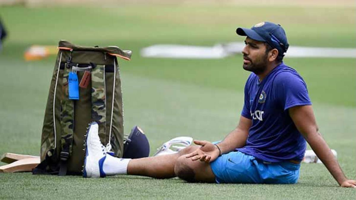 Fit-again Rohit Sharma hopes to make a comeback