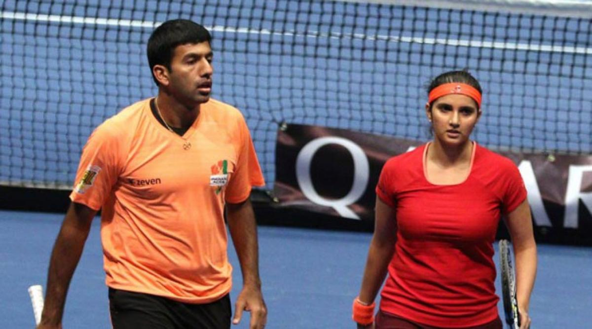 US Open: Bopanna knocked out, Sania moves ahead