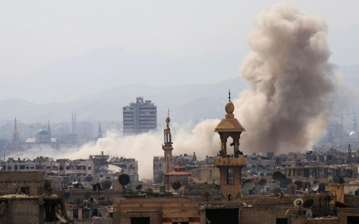 Fierce clashes in Damascus after rebel attack