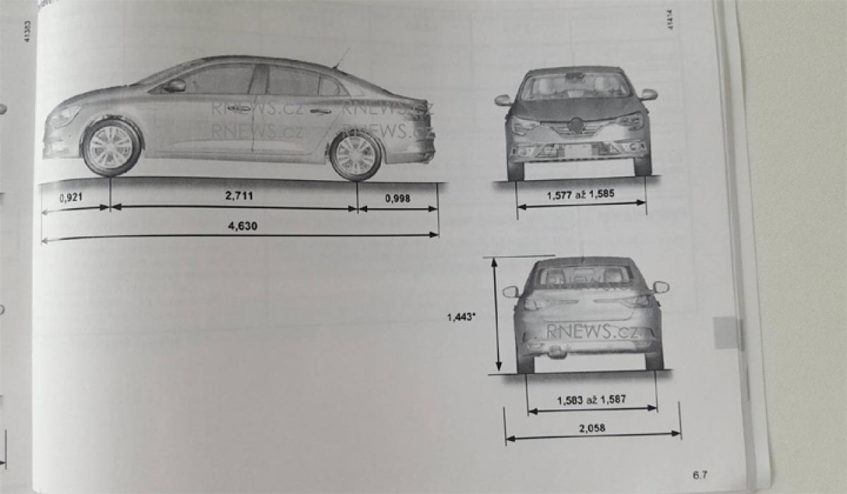 Leaked: Sketches of next gen Renault Fluence
