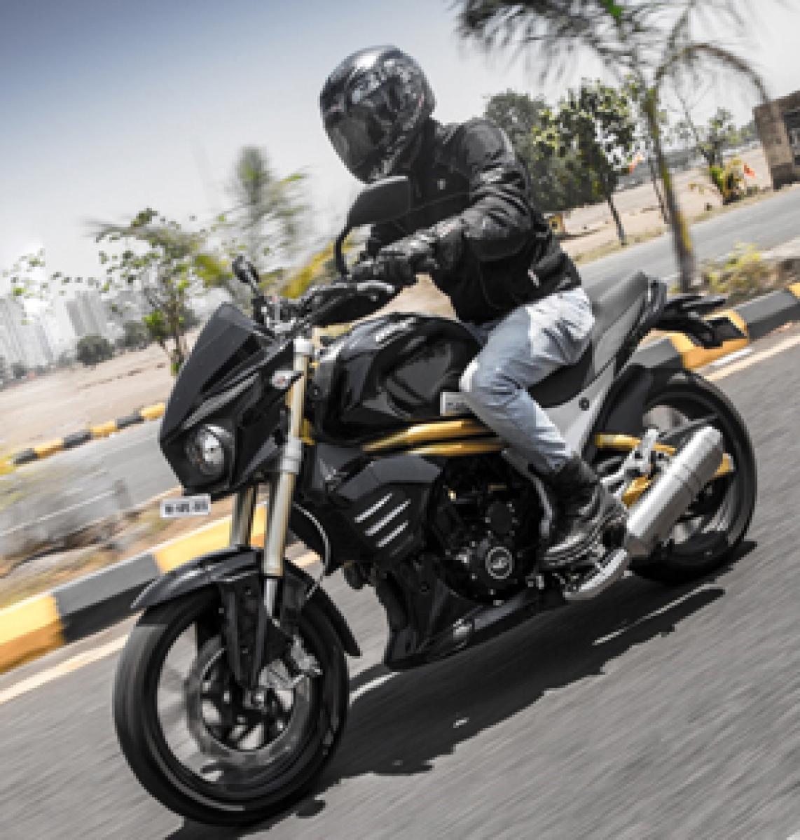 Mahindra shifts focus to premium two-wheelers