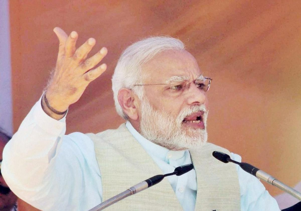 Im the adopted son of UP, it is my duty to develop the state: PM Modi
