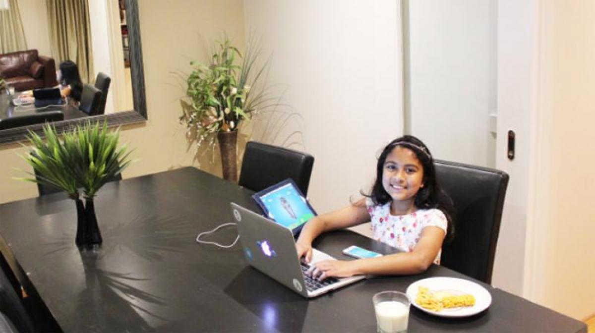 Meet Indian origin girl who has developed a handful of apps for Apple