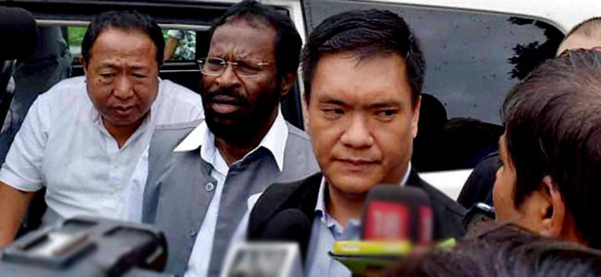 Crisis in Arunachal: PPA suspends CM Khandu and six others from primary membership