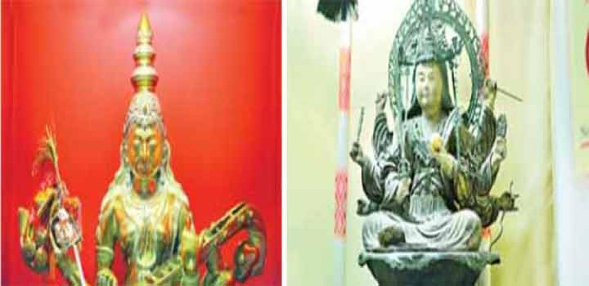 Japanese worship Hindu pantheon