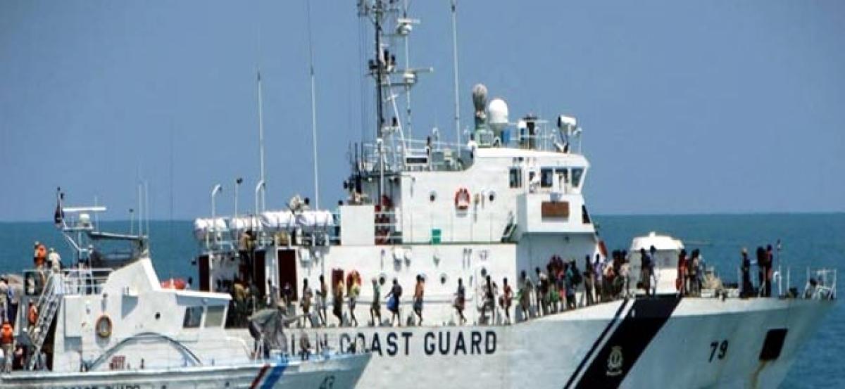 Coastal Marine Police rescues stranded Sri Lankan family
