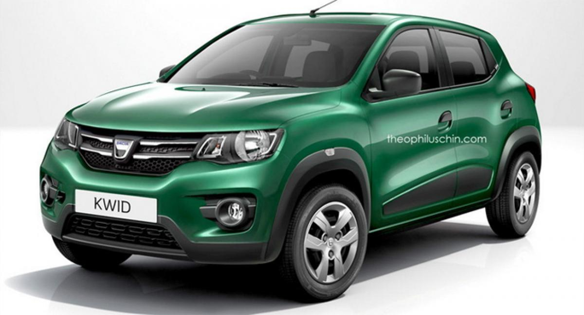 Renault to launch highly successful Kwid crossover in Europe under Dacia brand