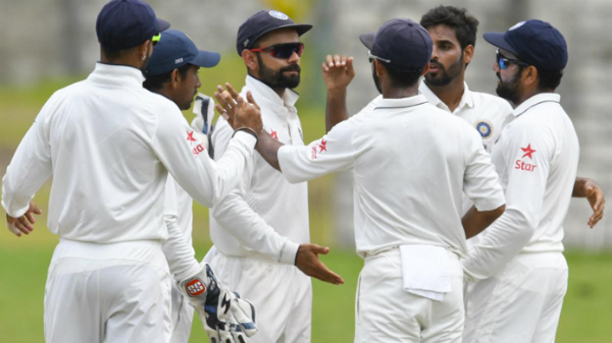 India wins Test Series against New Zealand