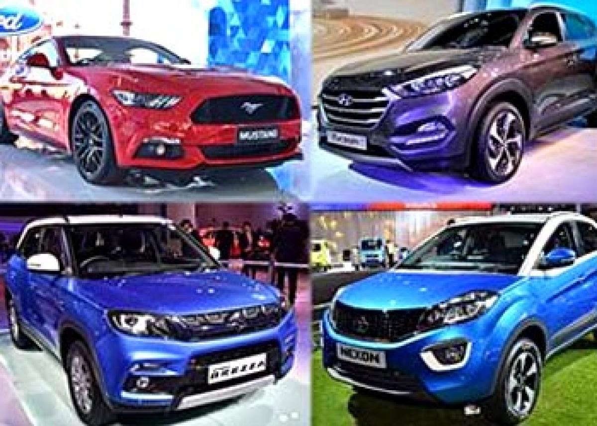 Gigantic Cars, bikes steal the show at Auto Expo 2016 Delhi