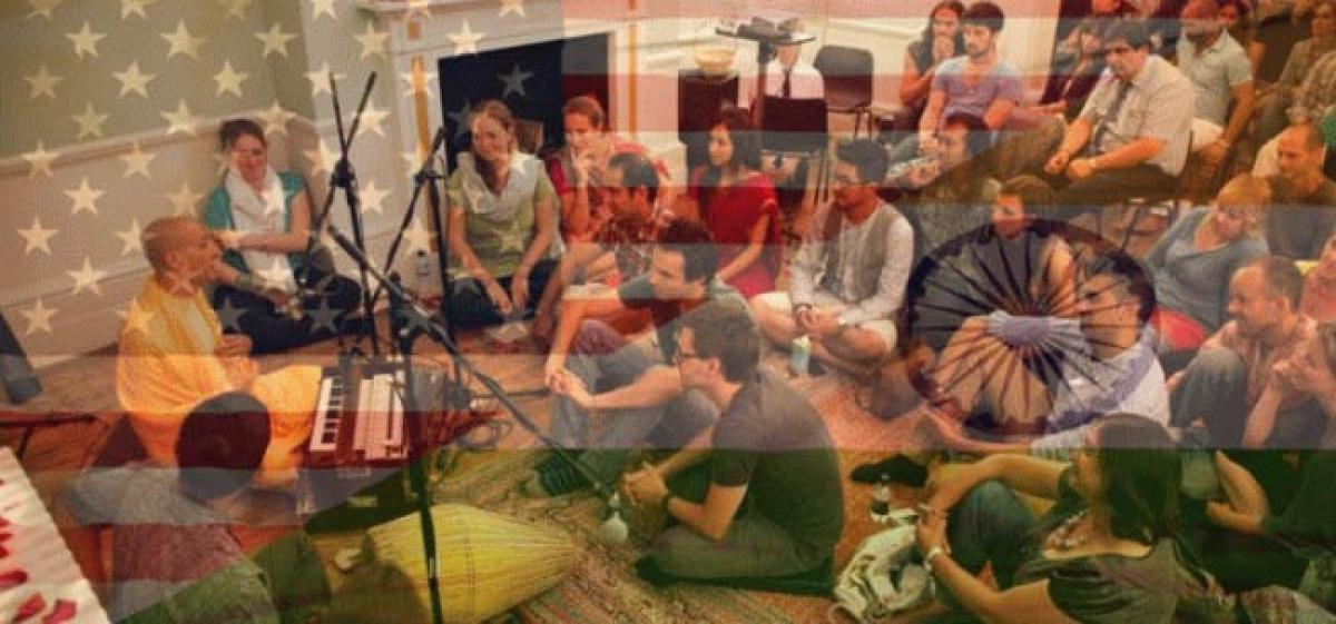 Kirtan singing by non Hindu Ivy league student sparks protests