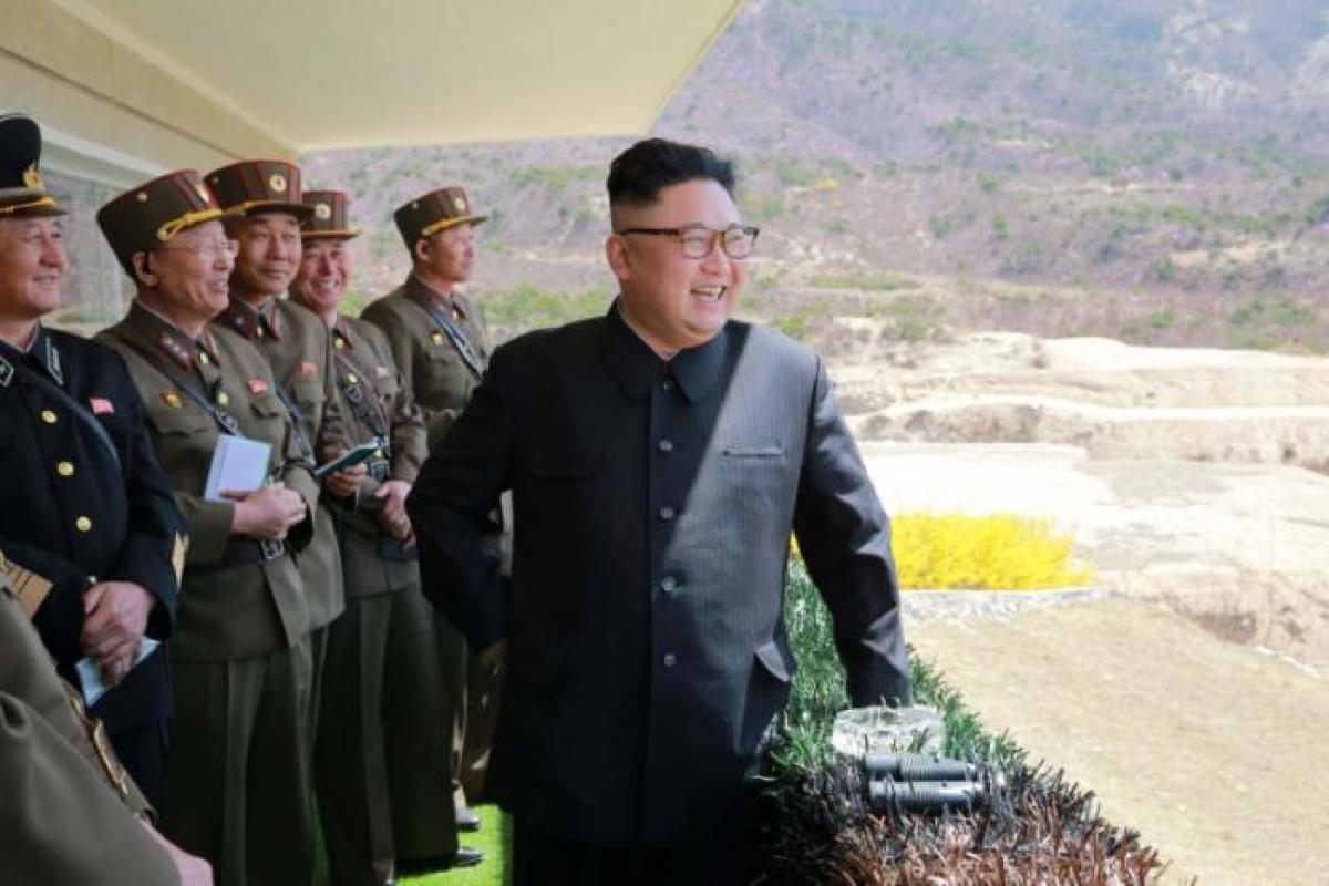 "North Korea condemns U.S. for bringing ""huge"" nuclear assets to region"