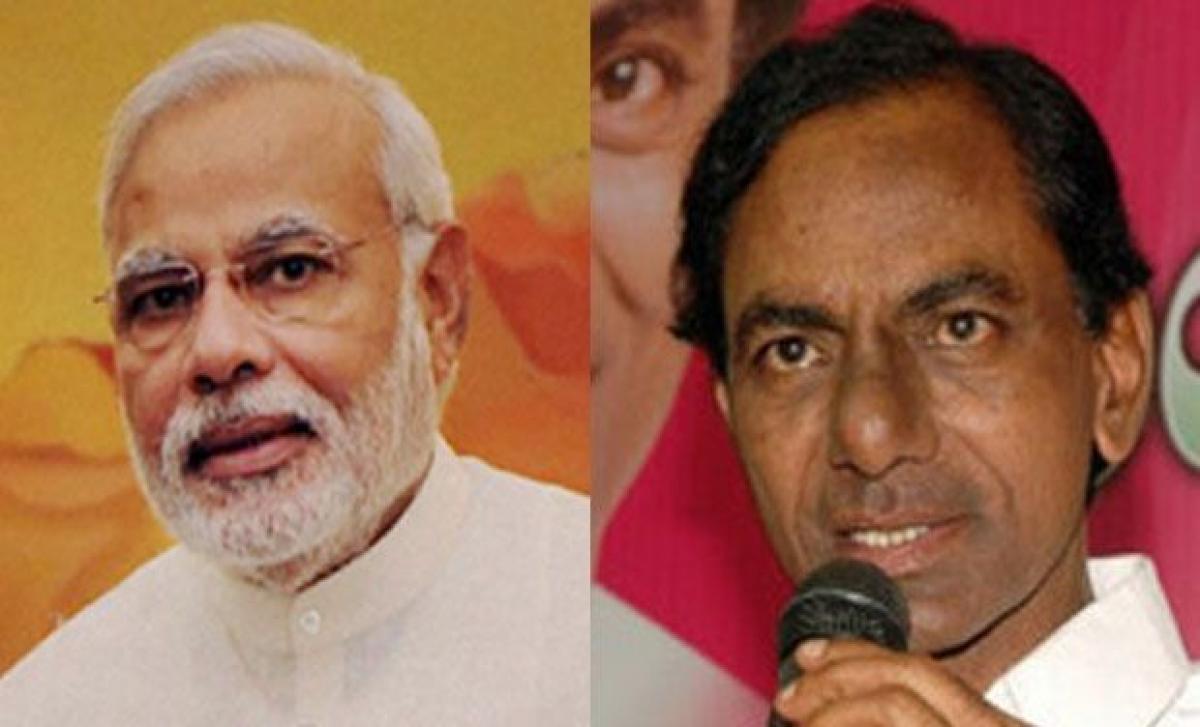 PM Modi all praise for Telangana governance