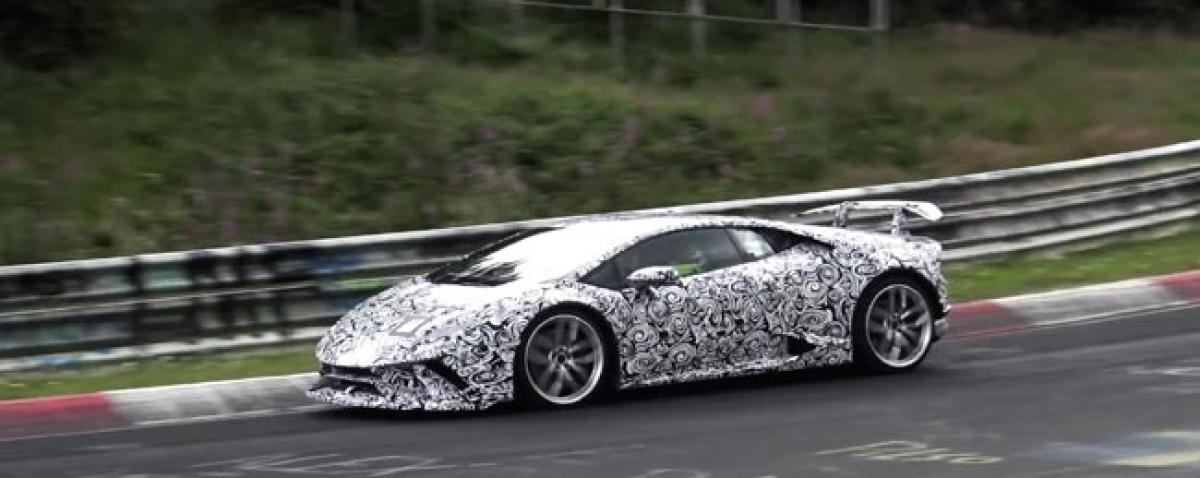 Huracan Superleggera Spied : Heres What You Need To Know!