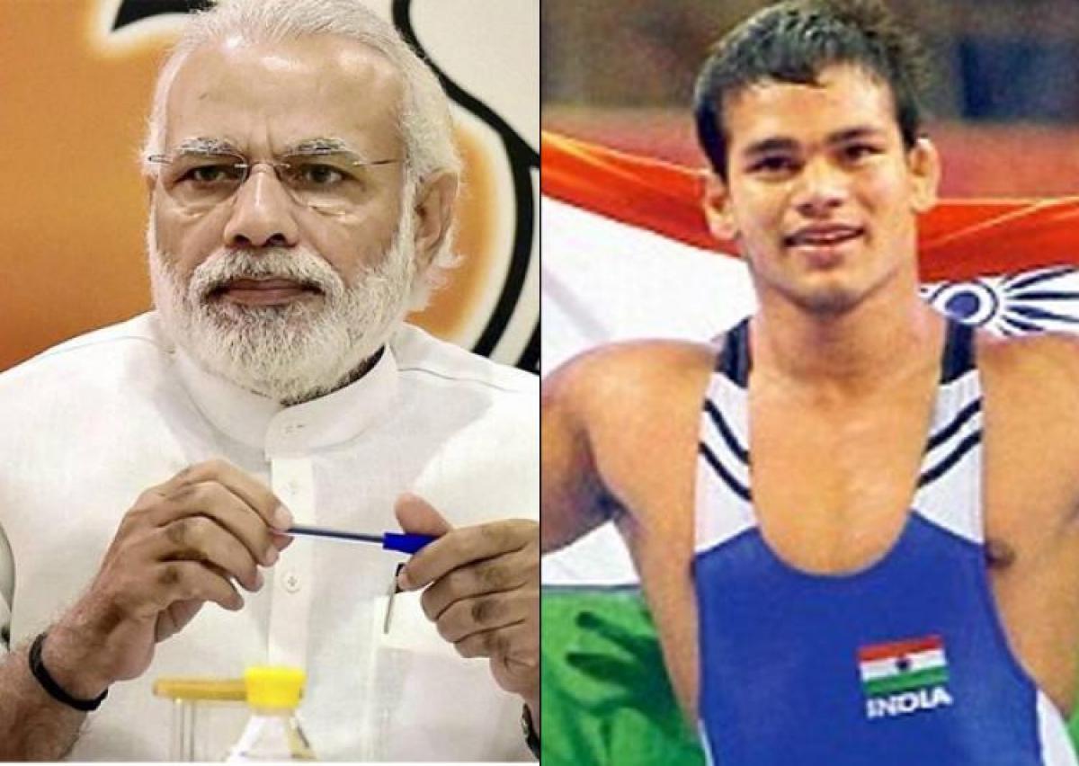 Modi tells Narsingh to focus on winning laurels for India