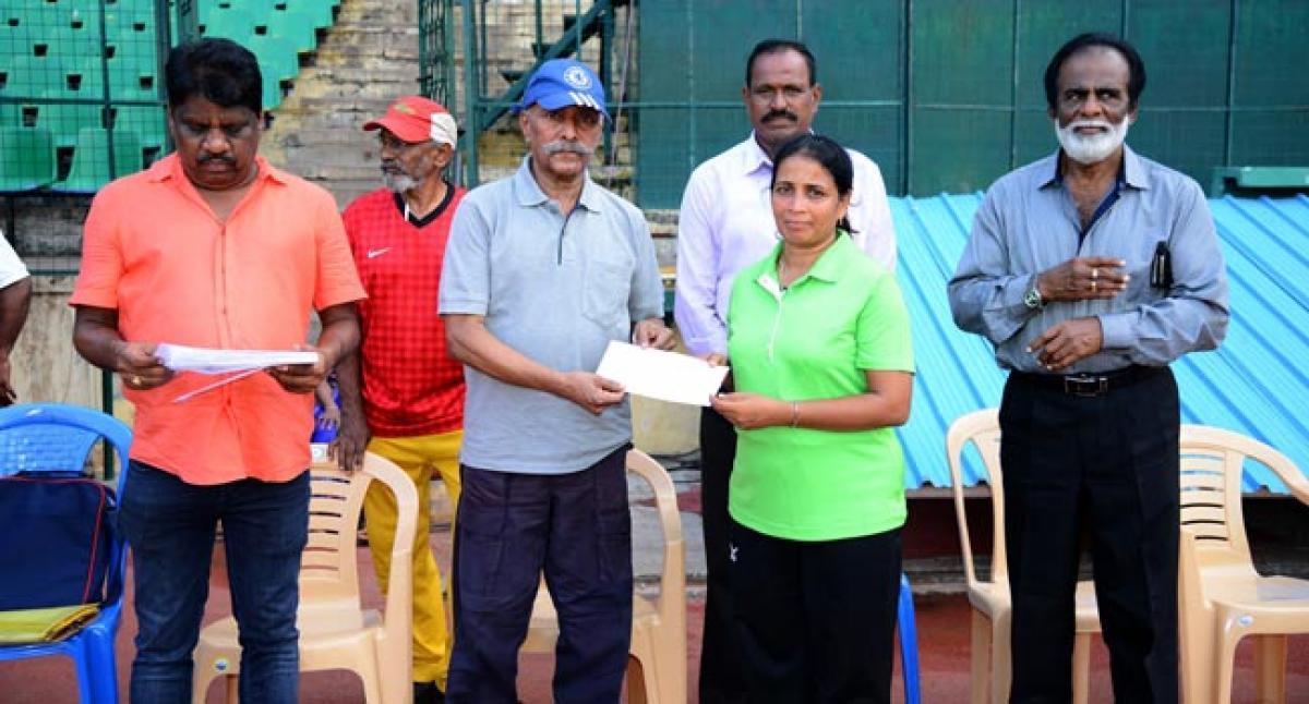 XIV Chennai District Masters Athletic Meet 2016