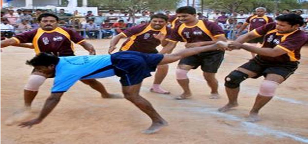 State-level kabaddi tournament begins