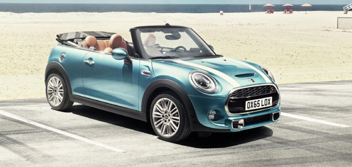 2016 Mini Cooper Convertible to come to India on March 16