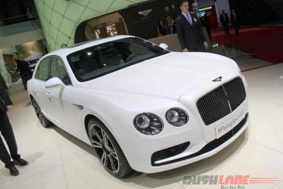 Check out: Bentley Continental Flying Spur V8 S features at Geneva Motor Show 2016
