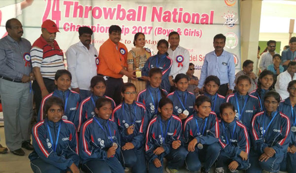 TN girls, Delhi boys top in throwball