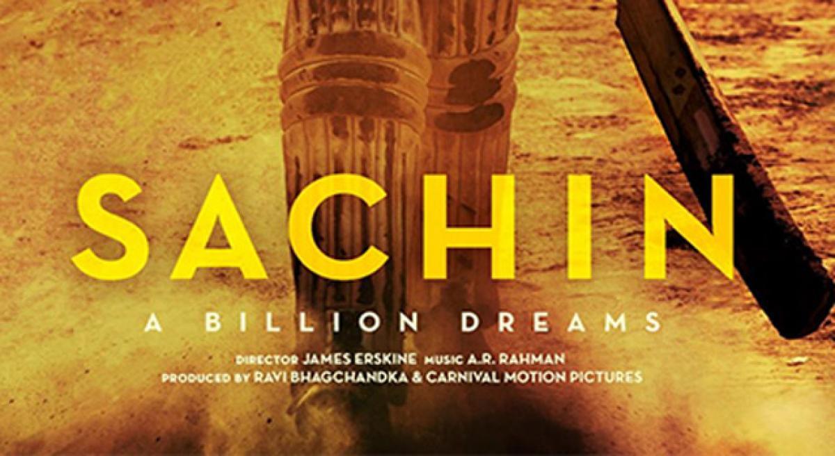 Sachin: A Billion Dreams to release in Telugu also