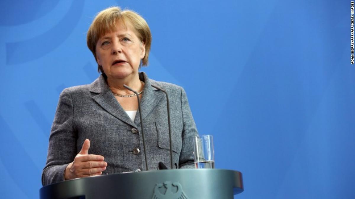Snowstorm delays Trump-Merkel meeting