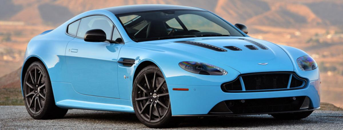 Aston Martin V12 Vantage S gets 7-speed manual gearbox