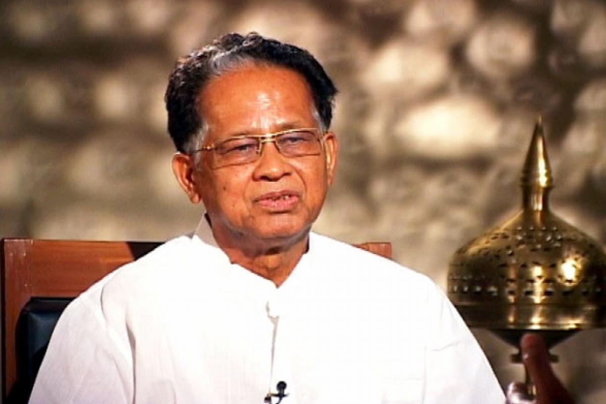 BJP creating law & order problem for President's Rule in Assam: Tarun Gogoi