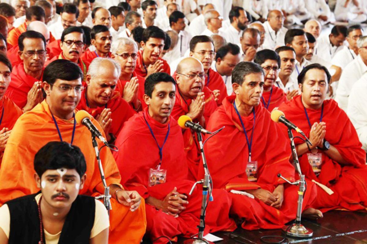 Photos: Ashadi Ekhadashi Festival at Prasanthi Nilayam