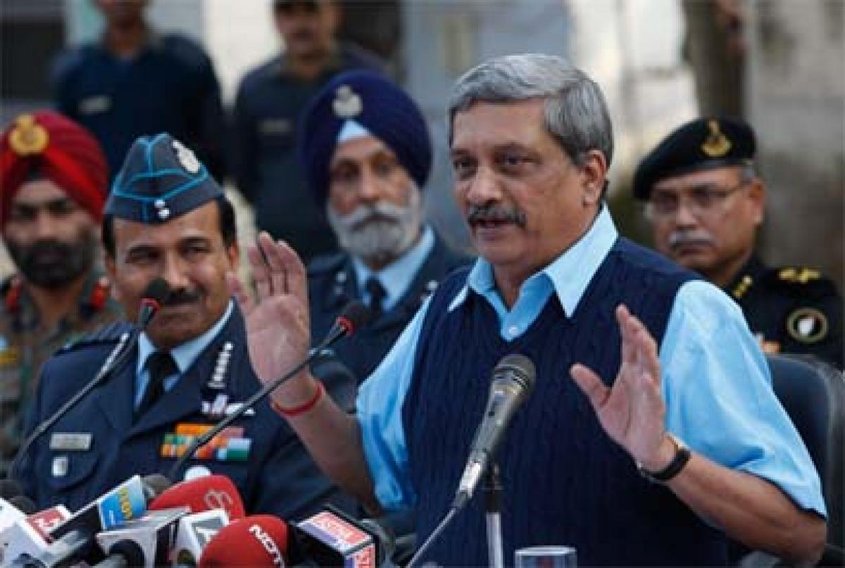 Those who harm India should be inflicted with pain: Manohar Parrikar