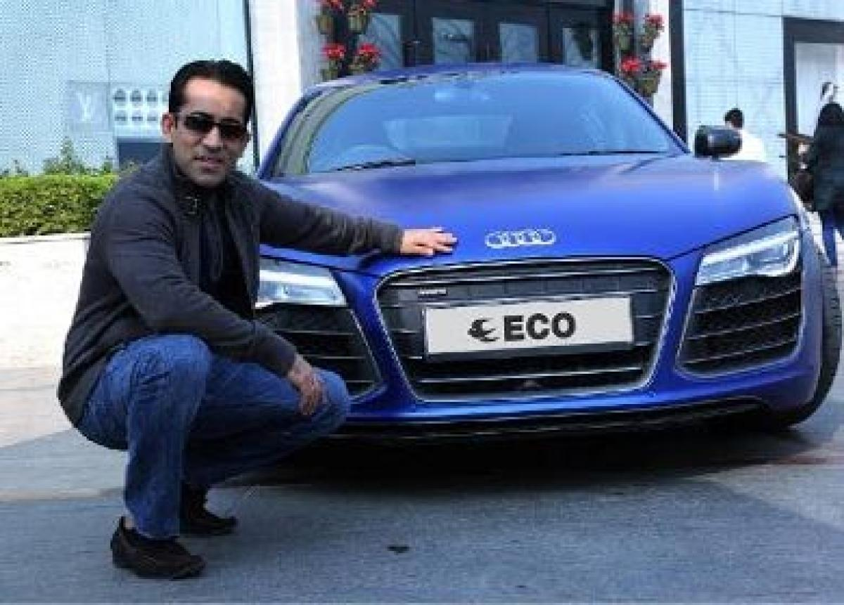Rent a swanky Audi R8 V10 with Eco Rent a Car