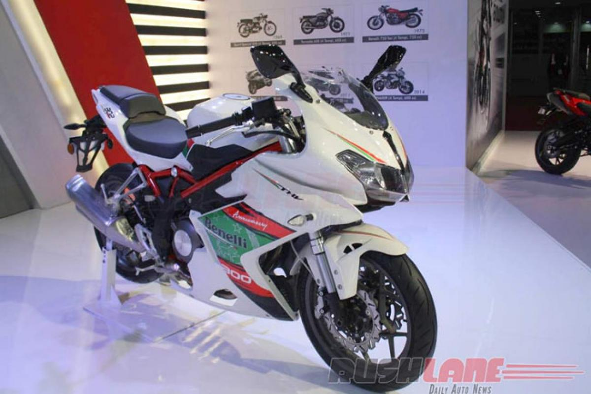 Benelli to launch 302R and TRK 502 by next year