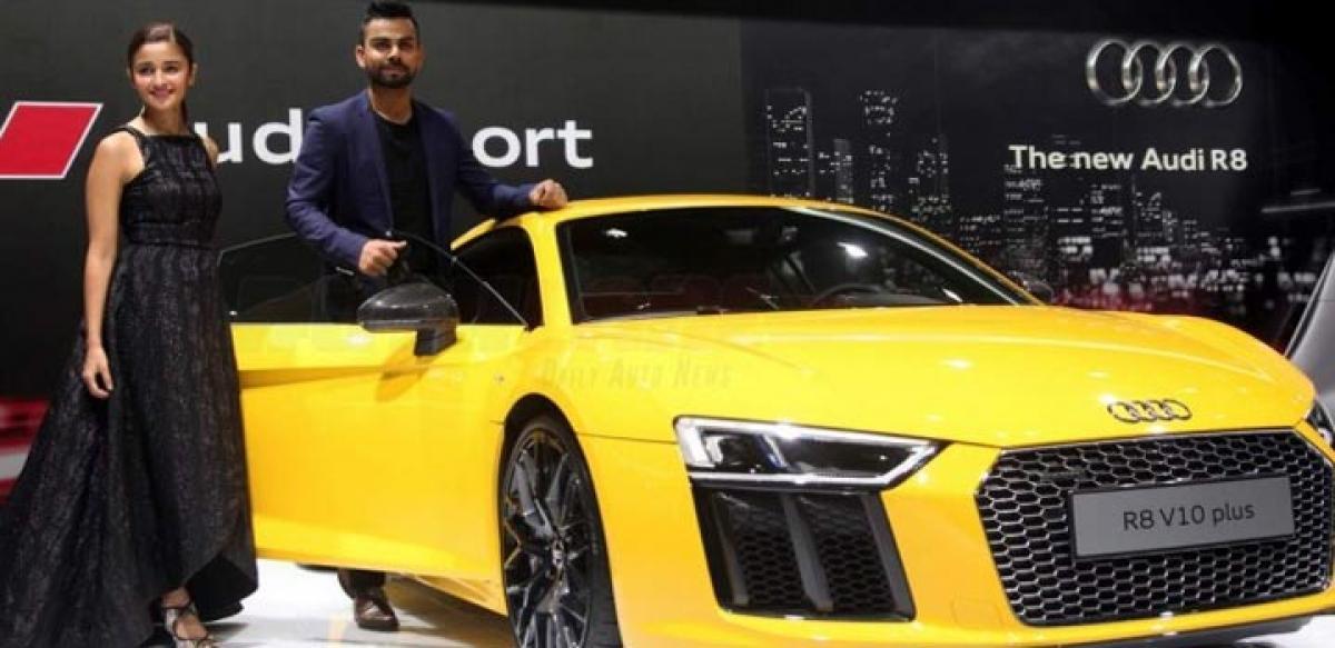 Explore Audi R8 V10 Plus features price in India Auto Expo 2016