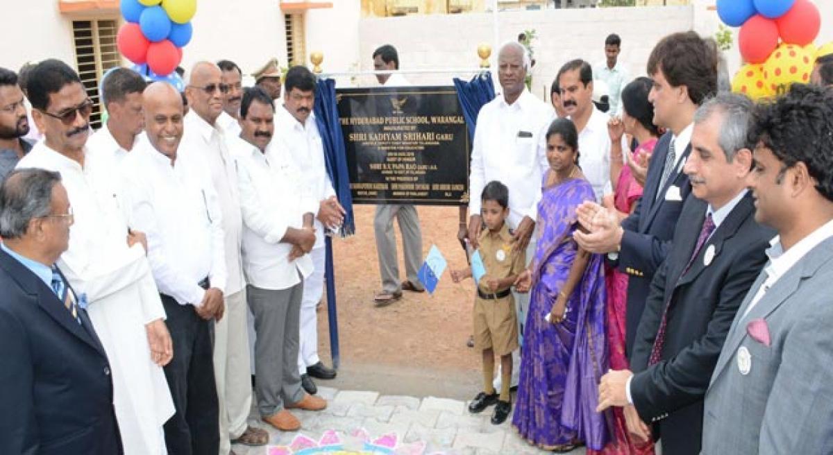 HPS Warangal branch inaugurated.