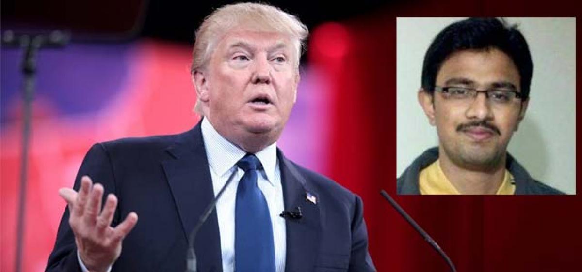 US President Donald Trump condemns Kuchibhotla killing