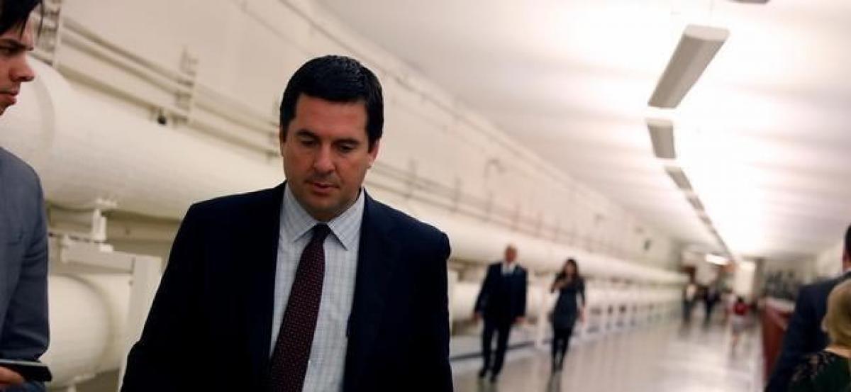 Beleaguered Nunes steps aside from U.S. House probe on Russia