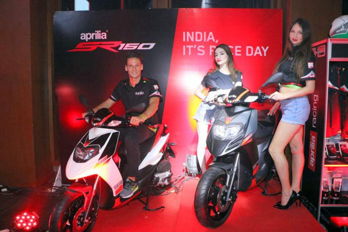 Aprilia SR150 now available in India