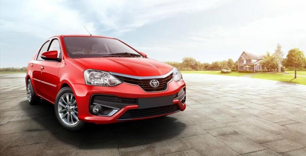 Toyota Kirloskar Motor announces the standardization of ABS with EBD in all models across all grades with the launch of 'The New Platinum Etios' and 'New Etios Liva' in India