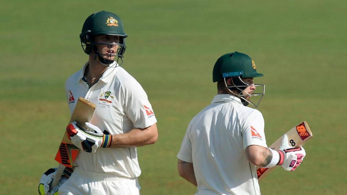 Australia post 436/ 6 at lunch against India A on Day 2 of warm-up game