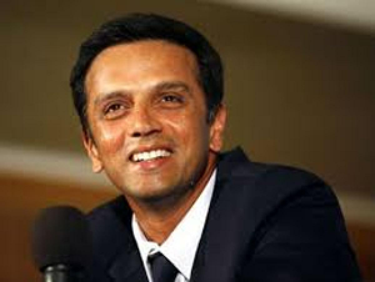 Patience in the words of Rahul Dravid